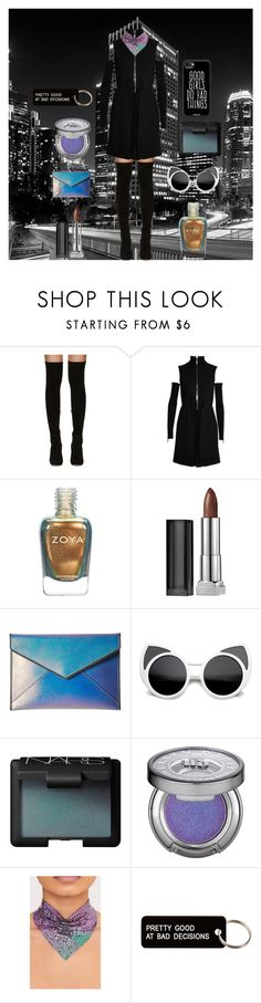 """""""Good or Bad, who cares?"""" by lrbrugioni ❤ liked on Polyvore featuring Jimmy Choo, Versus, Maybelline, Rebecca Minkoff, ZeroUV, NARS Cosmetics, Urban Decay, Various Projects, Casetify and clean"""