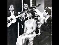 Trio Los Panchos with Eydie Gorme~Sabor A Mi : I love Los Panchos when accompanied by Eydie Gorme