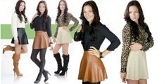 Chic Leather Skirts! | toAdorn.com #leather #skirt #bikerchick #toadorn