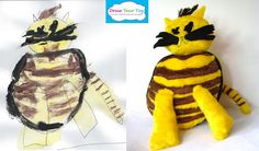 Draw Your Toy- softie from your kid's drawing. You will love it!