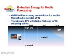 Embeded Storage for Mobile Forecasting