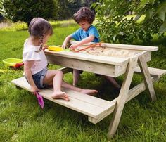 Even though days at the beach have been replaced by your daily routine of morning drop-offs and afternoon pick-ups, you can still play like it's summer all year long with these fun sandboxes. So grab your pails and shovels, click…