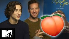 Call Me By Your Name: Peach Scene   Behind The Scenes With Armie Hammer & Timothée Chalamet - YouTube