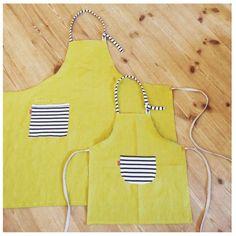 Matching * Parent-child apron S set | Apron | KKP | Handmade mail order · sales Creema