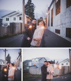 Jeremy & Megan In the neighborhood. #phinneywood #urbanlightstudios #seattle #seattlewedding  #weddingphotographer