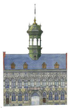 Hôtel de Ville de Mons, Noirfalise