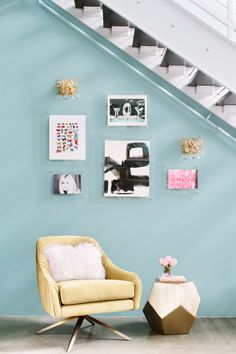 create accent seating