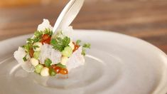 Salmon Tartare | Recipe | ChefSteps Tartare Recipe, Salmon Tartare, New Menu, Fresh Seafood, Ceviche, Culinary Arts, Scallops, Oysters, Food Art