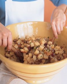"See the ""What You'll Need"" in our How to Make Stuffing gallery"