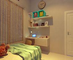 simple design, desain interior, desain furniture, kamar anak perempuan, custom furniture, pembuatan perabot