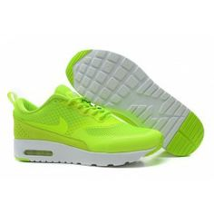 uk availability a08ed 49591 Shoes Cheap Nike Air Max Thea Mens Green   White HOT SALE!HOT PRICE!