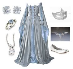 Medieval Style #3 by mirelly-w on Polyvore featuring Masquerade, BCBGMAXAZRIA, CZ by Kenneth Jay Lane, Tiffany & Co. and Diamondere