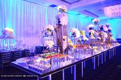 luxury wedding decor by ornate events decor