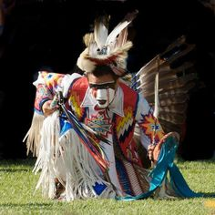 Ardell Scalplock [Siksika Nation] Men's Northern Traditional Dancer.