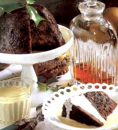 Angol karácsonyi puding | Receptek | gasztroABC Pudding, Desserts, Food, Tailgate Desserts, Deserts, Essen, Puddings, Dessert, Yemek