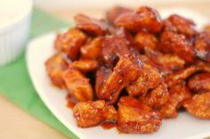 Honey-Chipotle Chicken Crispers - Fake Ginger