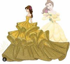 Michael_anthony_designs Disney Belle