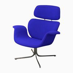 Blauer Big Tulip Armlehnstuhl von Pierre Paulin für Artifort, 1965 Jetzt bestellen unter: https://moebel.ladendirekt.de/kueche-und-esszimmer/stuehle-und-hocker/armlehnstuehle/?uid=63dacb71-8762-5335-934b-cd116b5d1c1f&utm_source=pinterest&utm_medium=pin&utm_campaign=boards #kueche #esszimmer #armlehnstuehle #hocker #stuehle