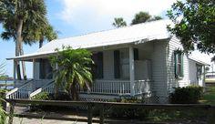 Bensen House (Grant, Florida)   cottage/cracker style