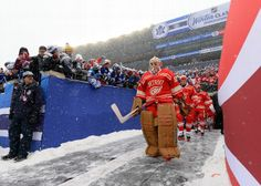 Jimmy Howard at the Winter Classic