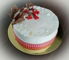 Winter birds cake