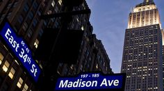 Madison Avenue - Mad Men- I was here yesterday :)