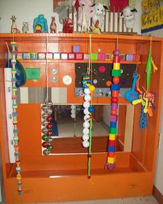 This is my SENSORY PLAYHOUSE NUBER 2. I show what it looked like before and what it looks like now. I had some wood laying around and a dre...