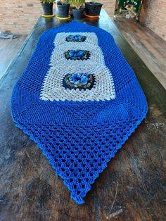 Crochet Table Runner, Kitchen