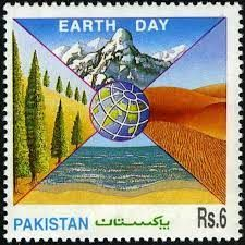Pakistan Stamps 1995 Earth Day - $1.00 : Pakistan Stamps Treasure Beautiful Rabbit, Earth Day, Pakistan, Stamps, Archive, Pictures, Poster, Image, Seals