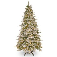 The Holiday Aisle® Snowy Avalanche 7.5 Green Spruce Artificial Christmas Tree with 600 Clear Lights & Reviews   Wayfair Christmas Tree Clear Lights, Pre Lit Christmas Tree, Christmas Greenery, Beautiful Christmas Trees, Christmas Decor, Xmas Trees, Coastal Christmas, Christmas Ideas, Christmas Central