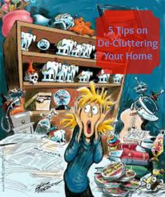 Five Helpful Tips on De-Cluttering Your Home