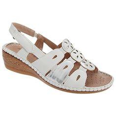 Boulevard Damen Slingback Sandale mit Klettverschluss - http://on-line-kaufen.de/boulevard-apparel-group/boulevard-damen-slingback-sandale-mit
