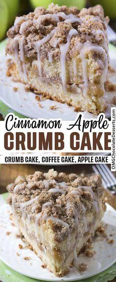 Apple Dessert Recipes, Apple Recipes, Easy Desserts, Sweet Recipes, Delicious Desserts, Snack Recipes, Yummy Food, Keto Recipes, Recipes For Apples