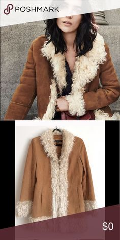 Boho Penny Lane Coat You want this coat!!! 💝💝💝 The boho perfect coat! Hate to depart with it, I want to give it to a good 🏡 Stock photos are for styling purposes only!!! There are 2 small marks on back of coat that I see as shown in last photo, professional leather cleaning should get them out. Do not let that deter you from buying this awesome coat!!! Genuine Leather, ask questions if interested please! Jackets & Coats