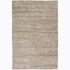 The perfect rug for your bedroom, den, or living room, this Mandara shag rug features a lovely neutral palette that looks fantastic with nearly any decor. This hand-woven rug is made with a wool and polyester blend for lasting luxury.