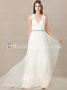 Casual Beach Wedding Dress BC822 | InWeddingDress