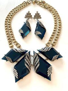 Leafy Designer Earrings,Blue Turquoise Pendant Set,Filigree Work Pendant,Dangle Earrings,Beautiful Earring Pendant Set,Party Wear Jewelry