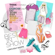 Featuring the Best In Show Golf Fashionista Polyvore Collection! See it in lorisgolfshoppe.polyvore.com #golf #fashion #ootd #lorisgolfshoppe