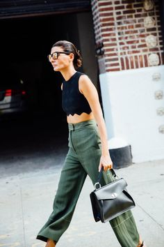 NYFW Street Style SS2017 | Giovanna Battaglia | @KatyaGuseinova