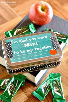 "You Were ""Mint"" To Be My Teacher"