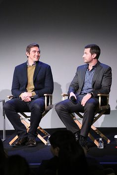 "Lee Pace and Richard Armitage at the Soho Apple Store: ""Meet the Actors"" on December 11th, 2014."