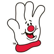 Hamburger Helper Glove.  I like the simplicity of this mascot, as well as the simplicity of the message- lending a helping hand.  Anyone who has ever used Hamburger Helper knows it is a super easy way to create a meal.