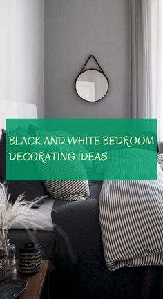 black and white bedroom decorating ideas Bedroom Decoration Bedroom Sitting Room, White Bedroom Decor, Wood Bedroom, Wedding Bedroom, Bedroom Images, Present Day, White Walls, Decorating Ideas, Black And White
