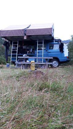 Pickup Camper, Bus Camper, Camper Trailers, Transporter T3, Volkswagen Transporter, T3 Bus, Vw Syncro, T2 T3, Kombi Home