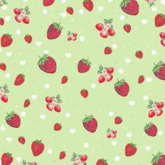 **FREE ViNTaGE DiGiTaL STaMPS**: Free Digital Scrapbook paper - Kitschy Strawberry Collage