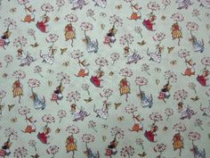 Daisies & Mice- Fabric--Mice #Unbranded