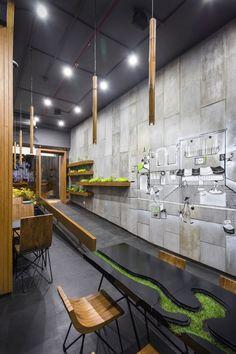 Projem Dergisi Kent Dokusuyla Tasarlanan Aja Restoran