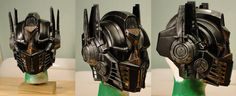 steampunk helmets optimus prime transformers