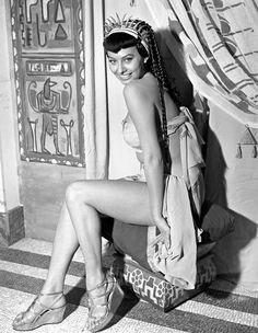 Two Nights with Cleopatra From 1954 Photoshoot