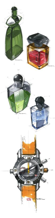 product sketch by Sangwon Seok, via Behance